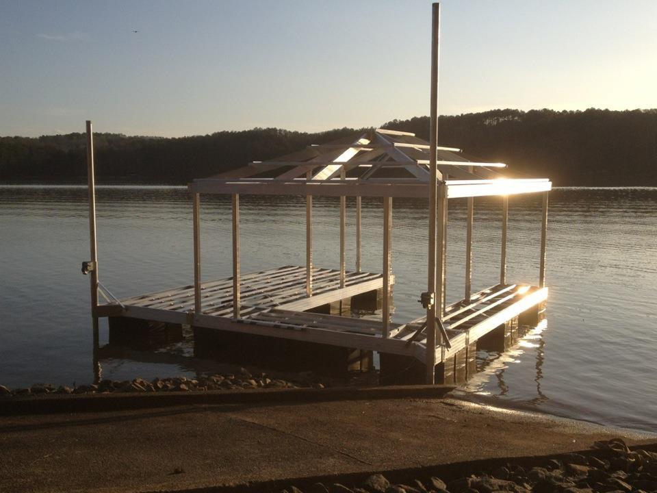 Aluminum Boat Dock Plans Gustafo