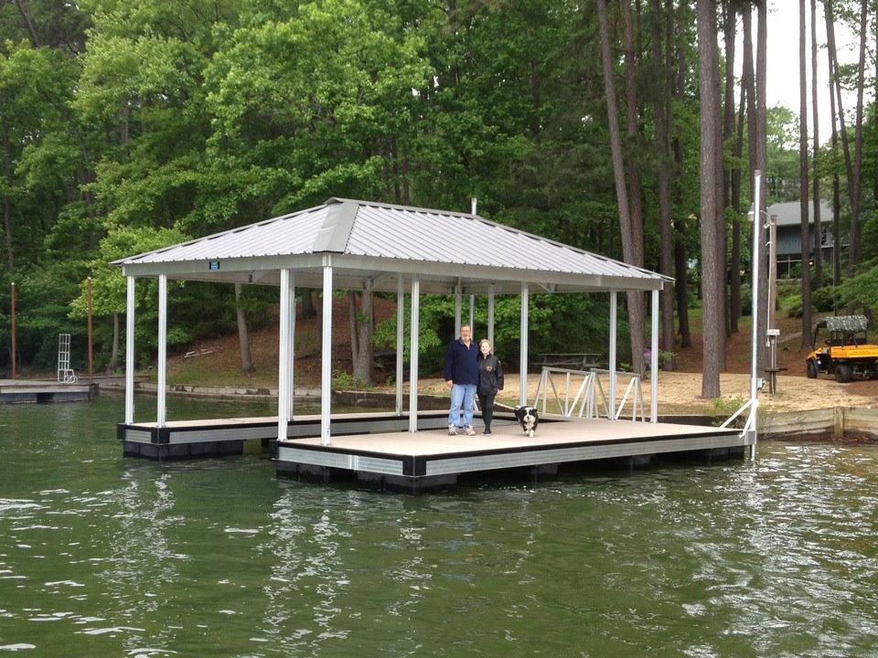 ... Docks CAT 3 aluminum floating dock installed by Casey Custom Docks