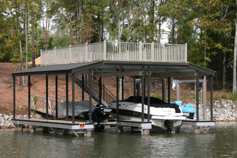 Floating Lake Dock - Aluminum docks