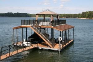 Marine Specialties installation on Lake Lanier