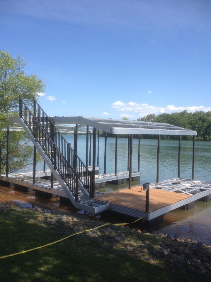 ngbl west dock aluminum dock installation