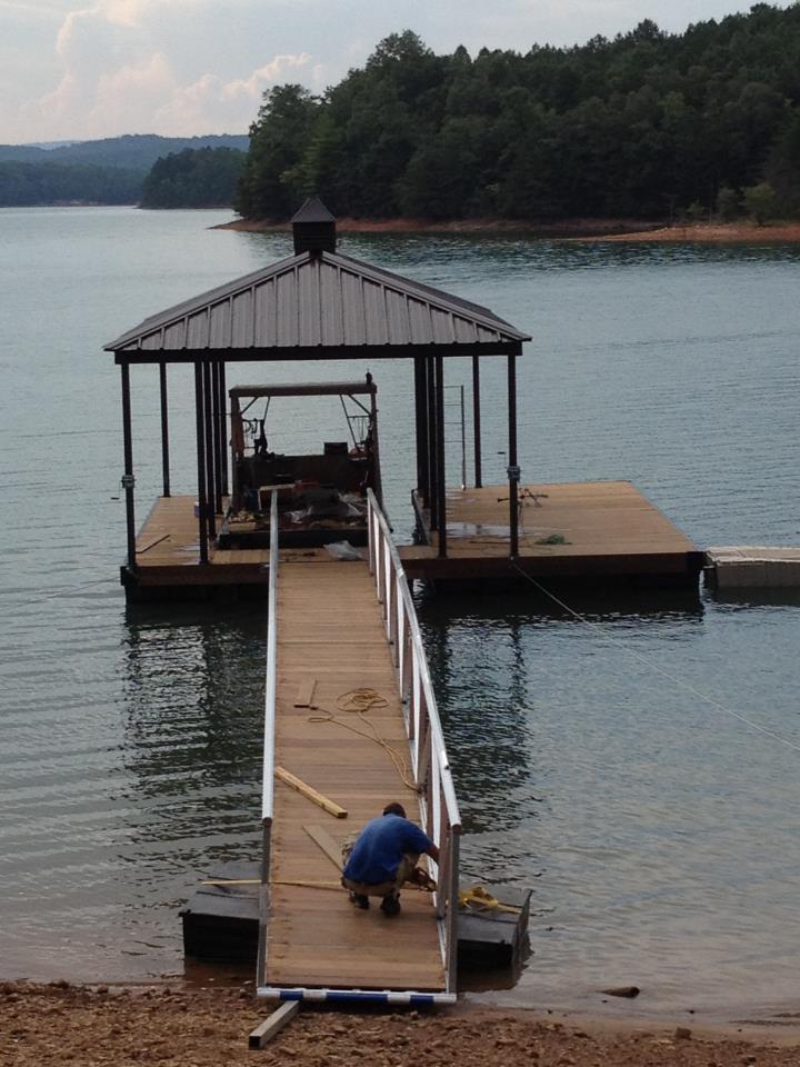 New Cat3 Boat Dock On Lake Nottely