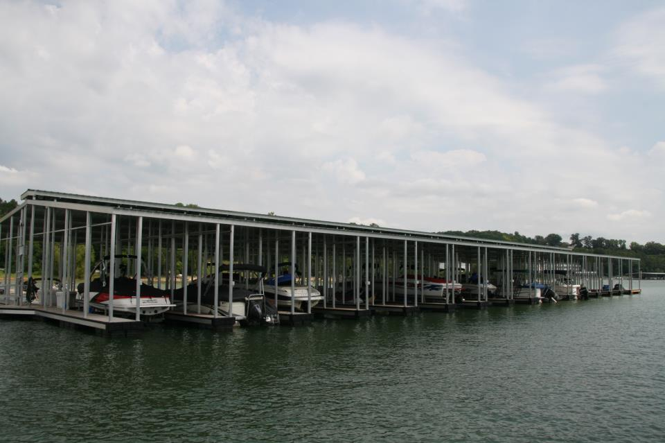 featured aluminum dock Harborcrest Marina