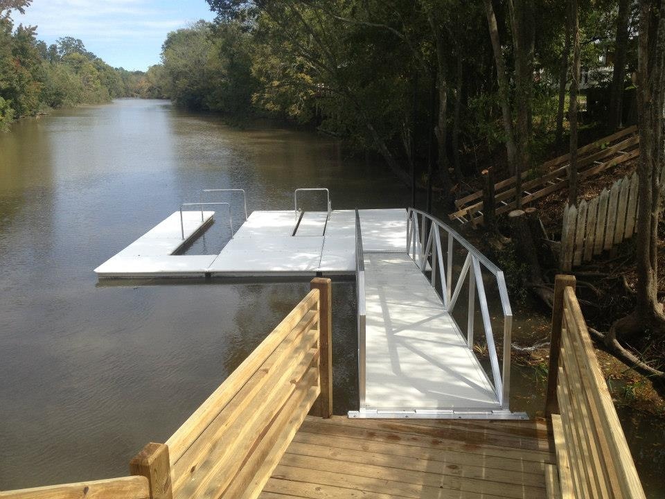 CAT5 boat dock from floating dock shop