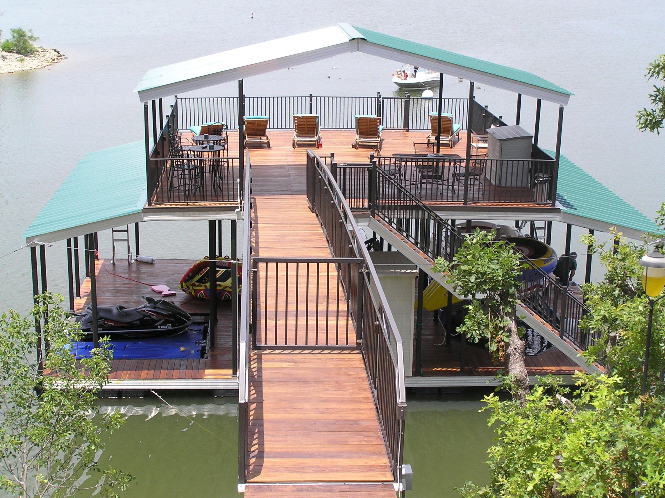 Wahoo Aluminum Docks Excellence Standard | Wahoo Docks